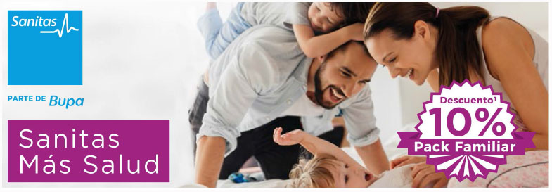 Sanitas Más Salud, seguro familiar de salud