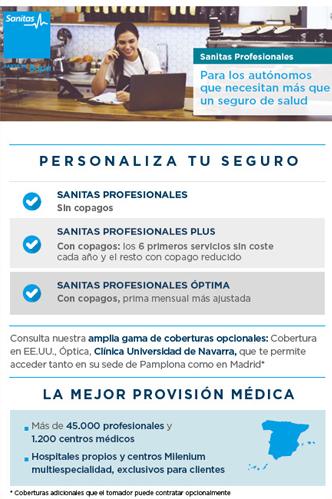 Seguro médico para autónomos y profesionales